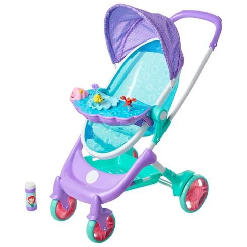 My Disney Nursery Musical Bubble Doll Stroller - The Little Mermaid - image 1 of 4