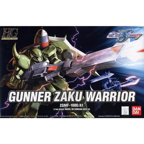 Bandai Hobby Gundam SEED #23 Gunner Zaku Warrior HG 1/144 Model Kit - image 1 of 3