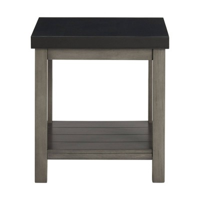 Graham Square End Table Brown - Picket House Furnishings