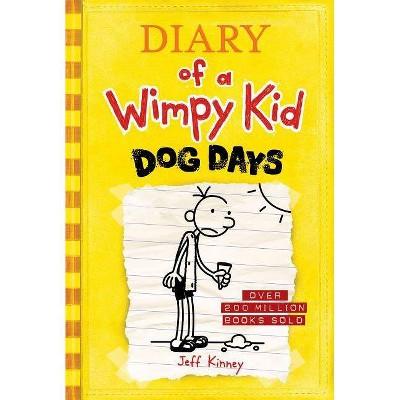 Wimpy Kid Dog Days - by Jeff Kinney (Hardcover)
