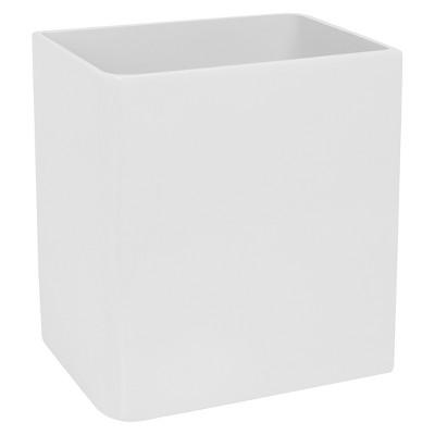 Lacquer Wastebasket White - Cassadecor
