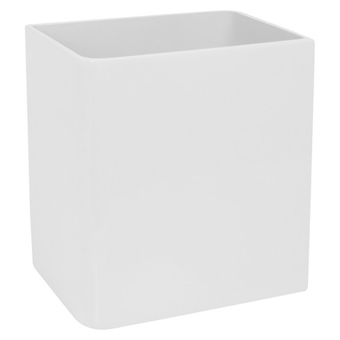 Lacca Wastebasket White - Kassatex® - image 1 of 1