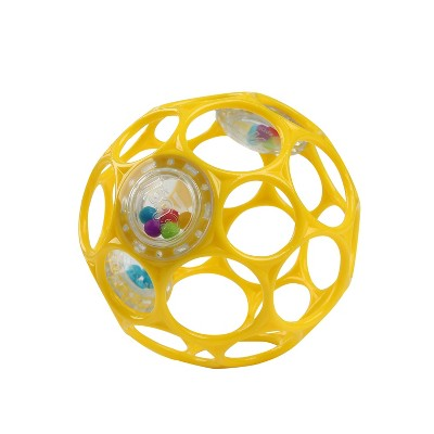 Oball Toy Ball Rattle - Yellow
