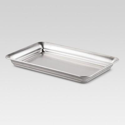 Bathroom Tray Brushed Nickel - Threshold™