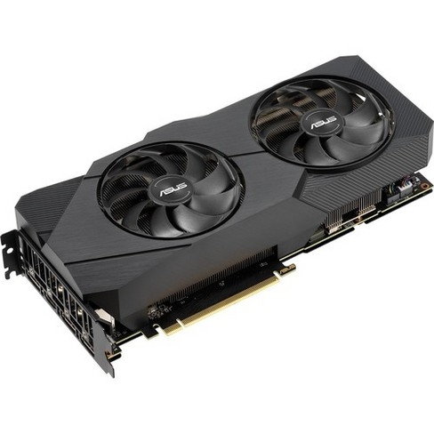 Asus Dual DUAL-RTX2070S-O8G-EVO GeForce RTX 2070 SUPER Graphic Card - 8 GB GDDR6 - 1.64 GHz Core - 256 bit Bus Width - DisplayPort - HDMI - image 1 of 4