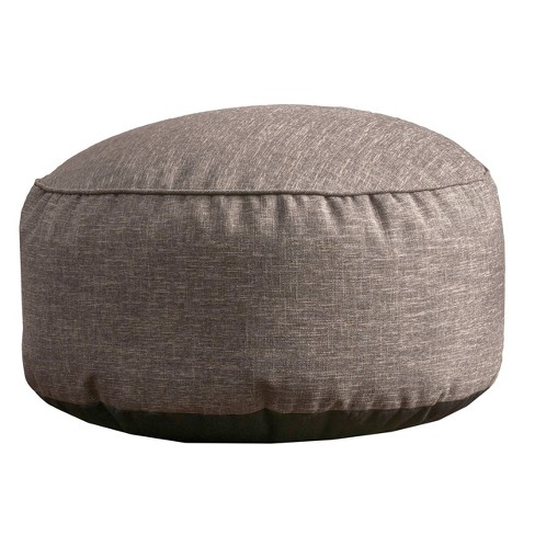 Hendrix Bean Bag Ottoman - Christopher Knight Home - image 1 of 4