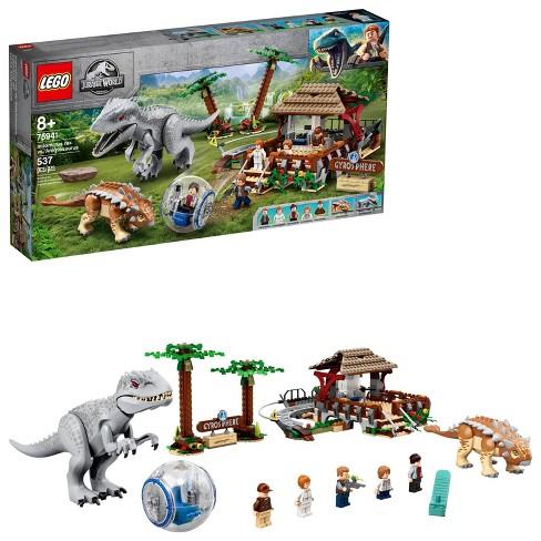 LEGO Jurassic World Indominus rex vs. Ankylosaurus Awesome Dinosaur Building Toy for Kids 75941 - image 1 of 4