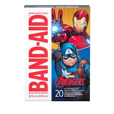 Band-Aid Avengers Adhesive Bandages - 20ct