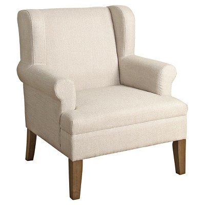 Emerson Wingback Accent Chair - HomePop