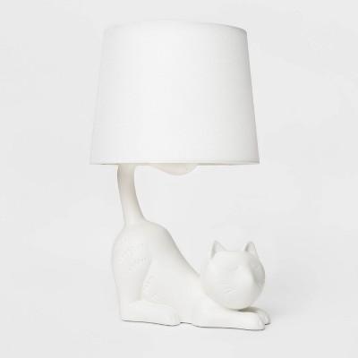 Cat Figural Table Lamp - Pillowfort™
