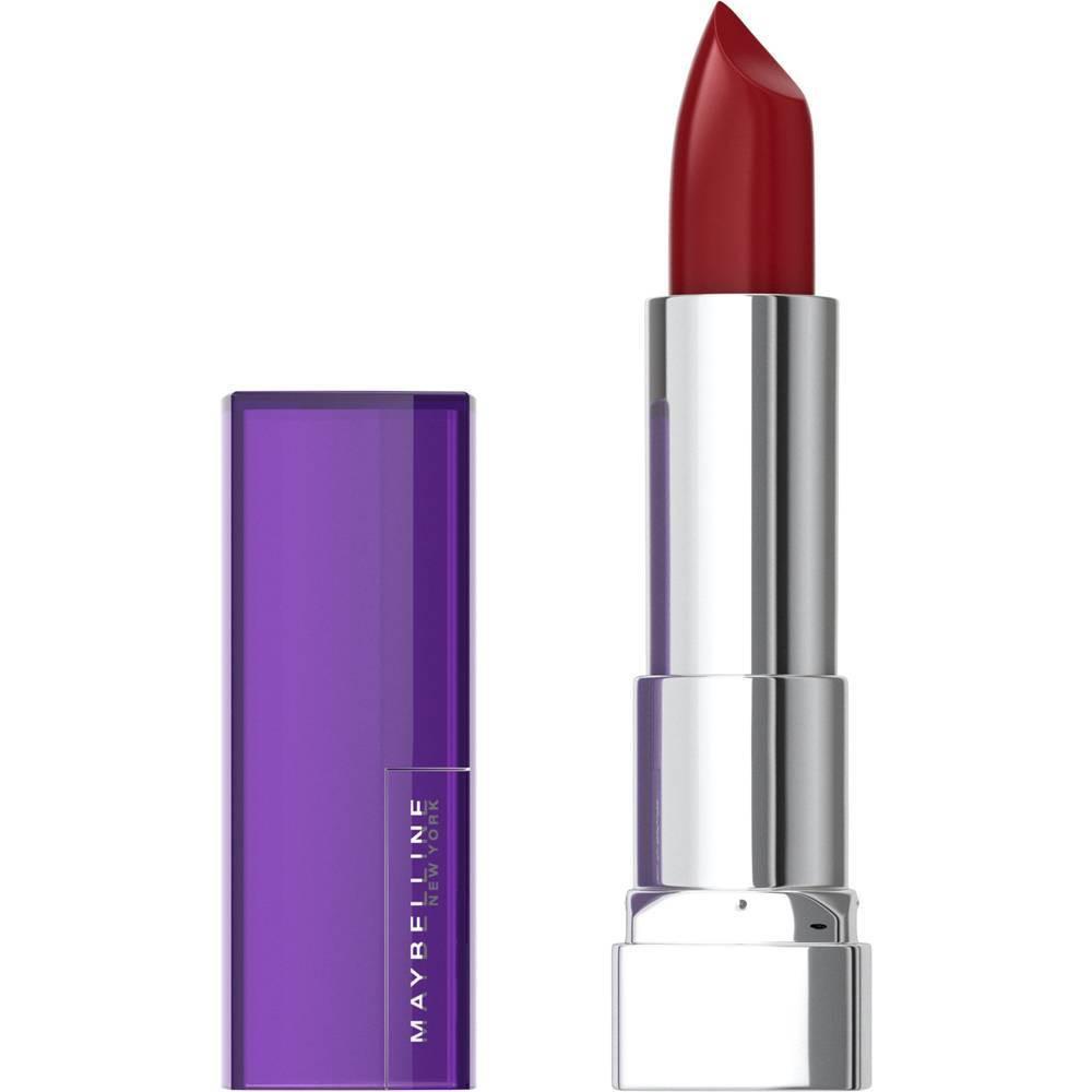 Image of Maybelline Color Sensational Cremes Lipstick Plum Rule - 0.14oz