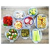 Kinetic GoGreen Glasslock Elements 18-Piece Oven Safe Glass Food Storage Container Set with Vented Lid - image 4 of 4