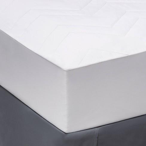 Twin/Twin XL Machine Washable Microfiber Mattress Pad   Room