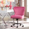 Studio 55D Erin Pink Fabric Adjustable Office Chair - image 2 of 4