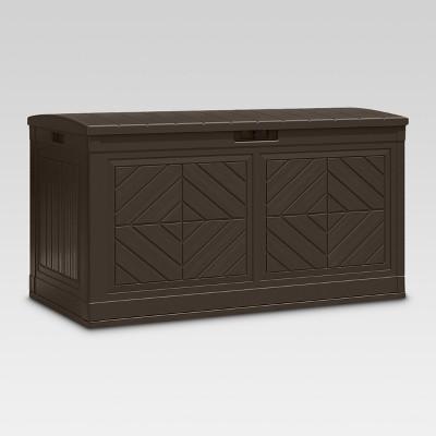 Deck Box 24.25  - Brown - Suncast