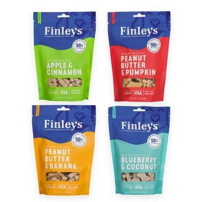 Finley's Variety Pack Dog Treats - 4pk