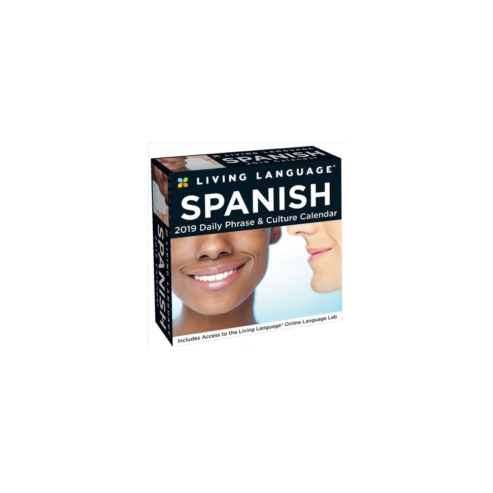 Living Language Spanish 2019 Calendar : Daily Phrases & Culture - (Paperback)