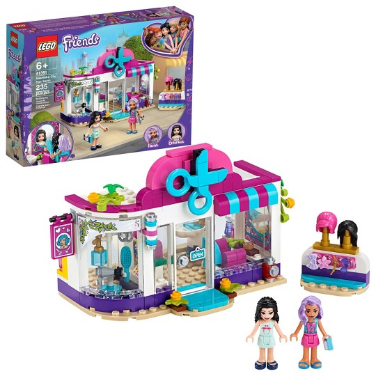 LEGO Friends Heartlake City Hair Salon Building Kit 41391 image number null