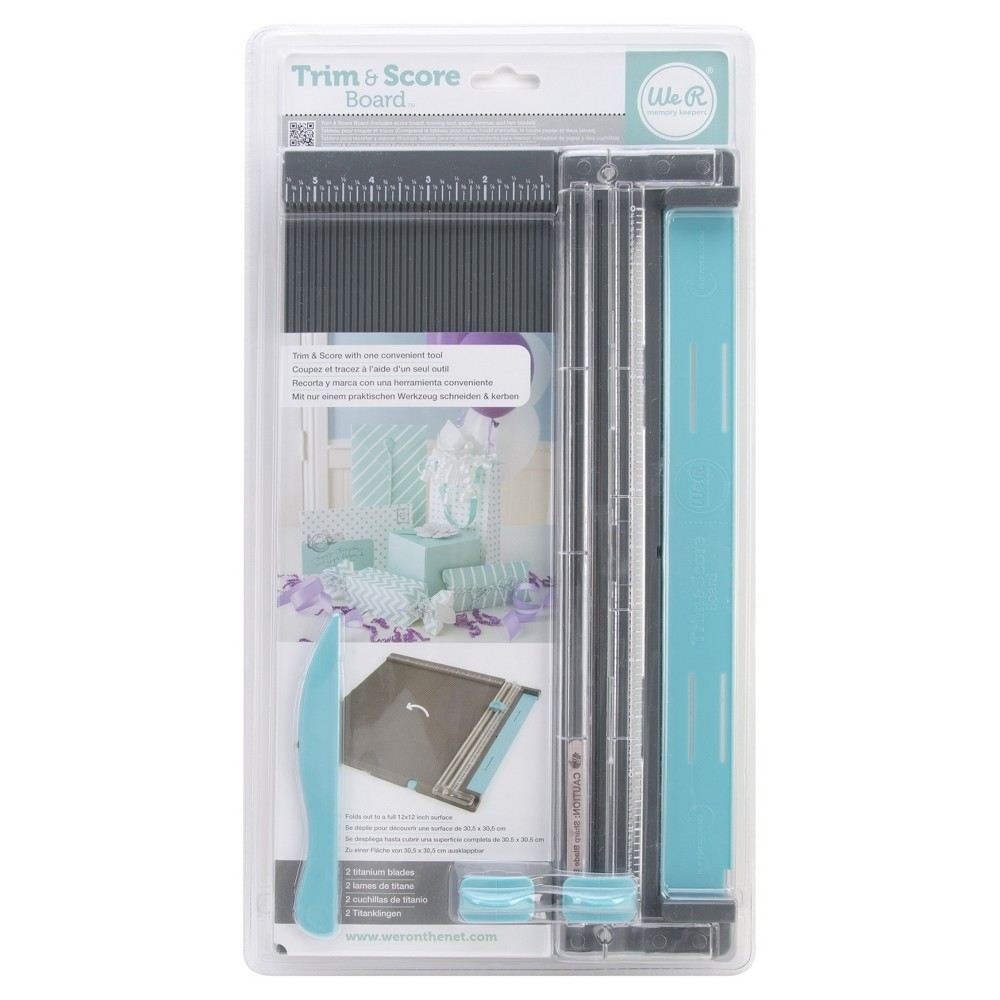 Image of Paper Trimmer Black We R Memory Keepers
