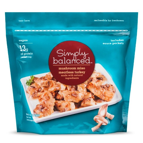 Mushroom Miso Frozen Meatless Turkey - 9oz - Simply Balanced™ - image 1 of 1