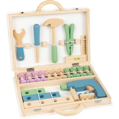 Small Foot Wooden Toys Premium Nordic Toolbox Playset
