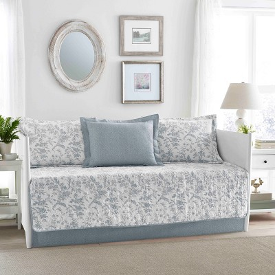 Blue Amberley Daybed Set - Laura Ashley