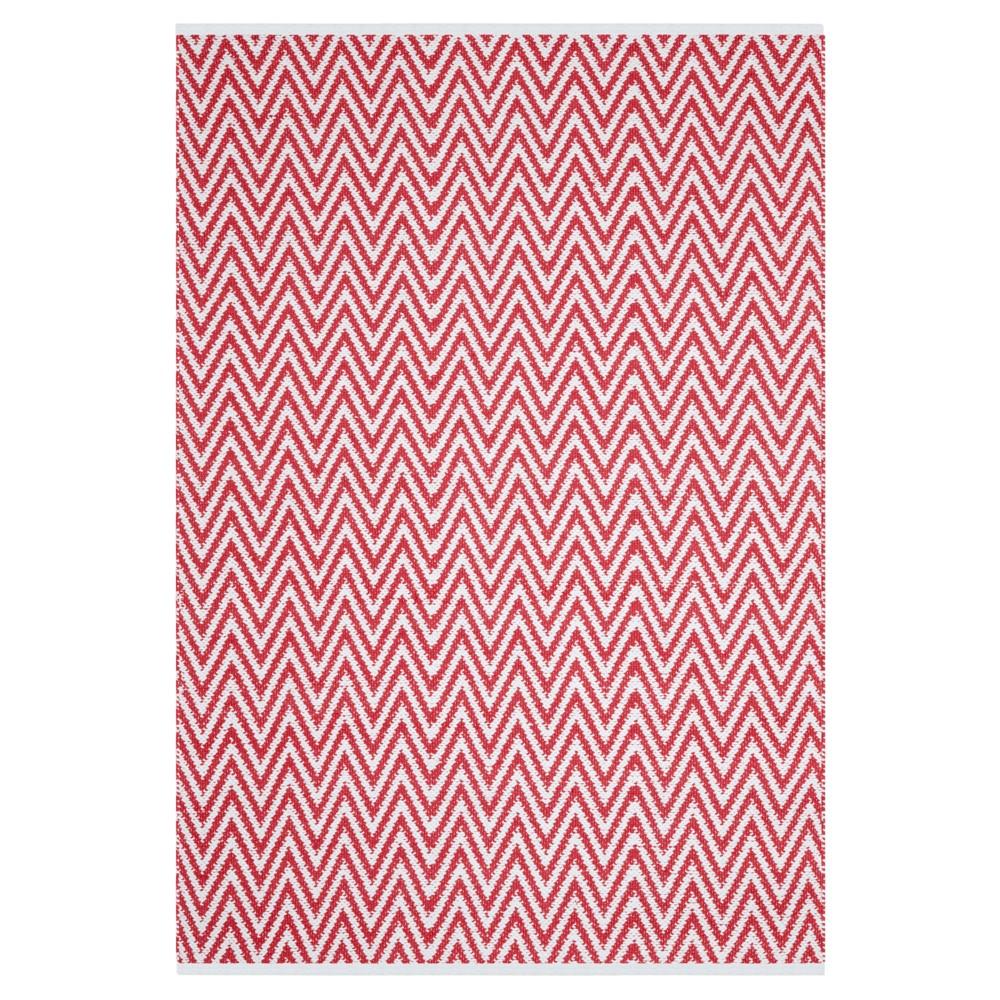 Montauk Rug - Red/Ivory - (5'x7') - Safavieh