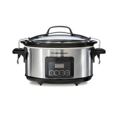 Hamilton Beach 6qt Programmable Cooker - Silver