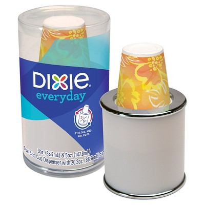 Dixie Everyday Combo Cup Dispenser With Cups - 3oz 20ct