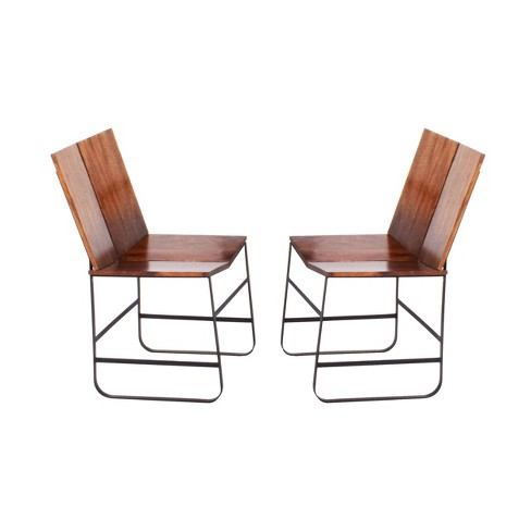 Bowman Side Chair Chestnut (Set of 2) - Steve Silver - image 1 of 1