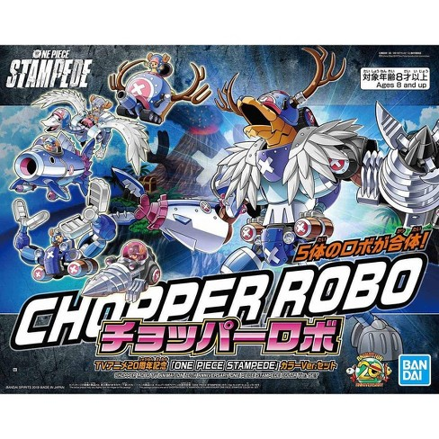 Bandai One Piece Mecha Collection Chopper Robo Stampede 20th Anniversary Model Kit - image 1 of 3