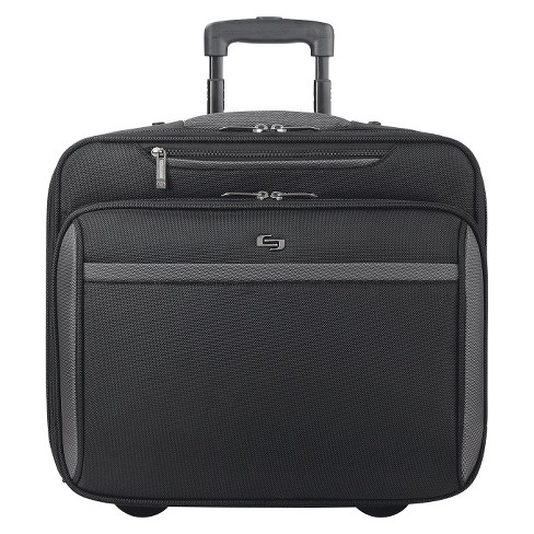 "Solo Pro Sterling Rolling Suitcase - Black ( 16"" ) - image 1 of 5"