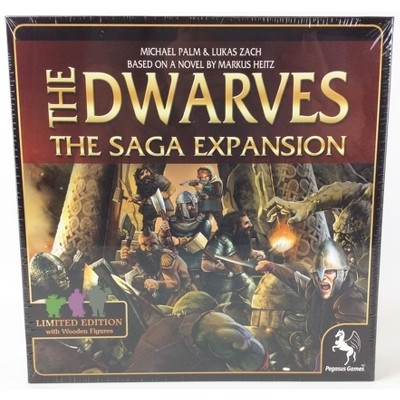 Dwarves - The Saga Expansion (Limited Edition w/Wooden Figures) Board Game