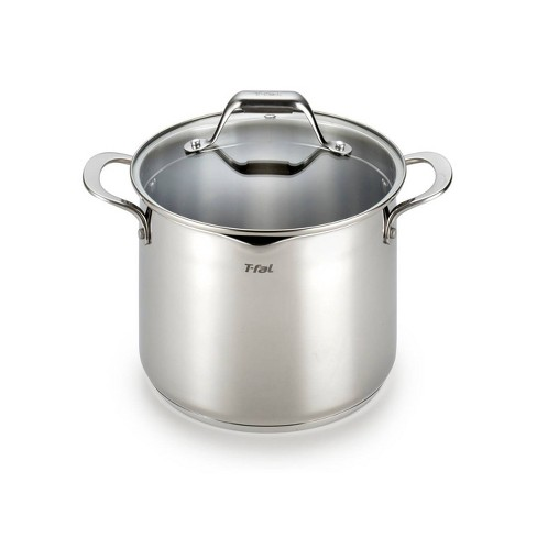 T-Fal 6qt Stainless Steel Stock Pot - image 1 of 4