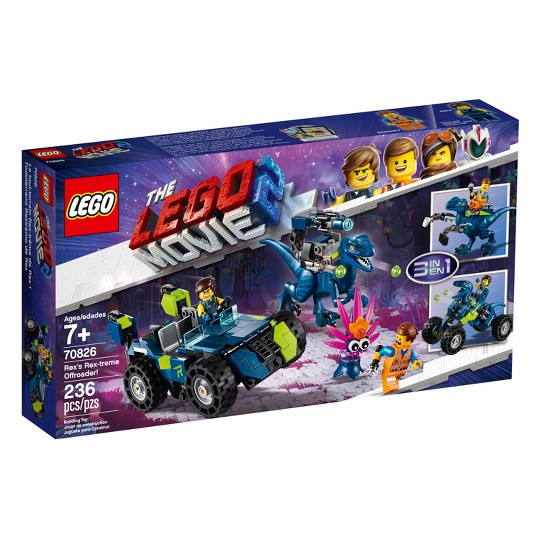 LEGO Movie Rex's Rex-treme Offroader! 70826 image number null
