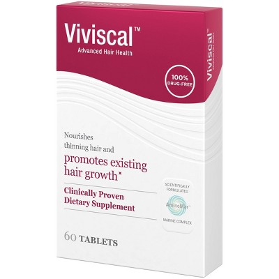 Viviscal Promotes Hair Growth Clinically Proven Dietary Supplement - 60ct