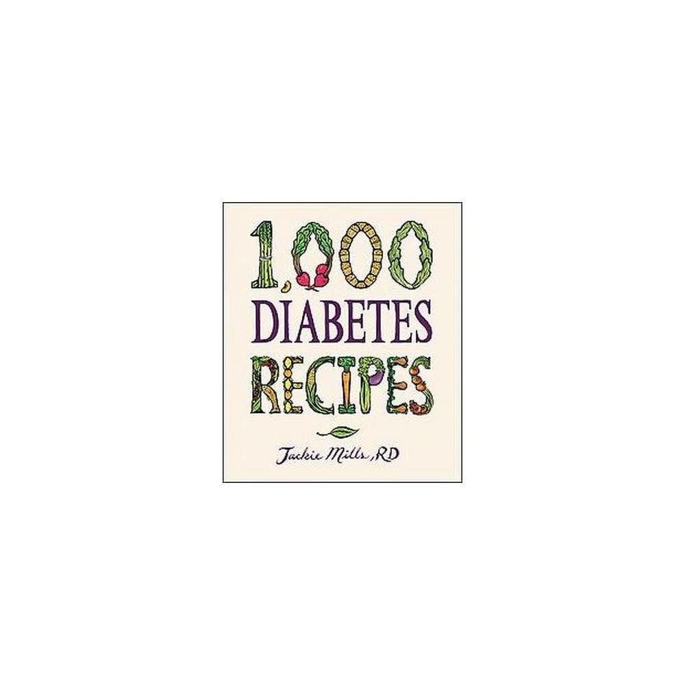 1,000 Diabetes Recipes (Hardcover)