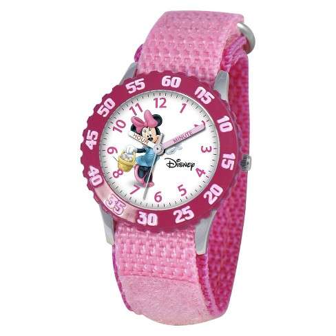 Disney® Kid's Minnie Watch - Pink - image 1 of 6