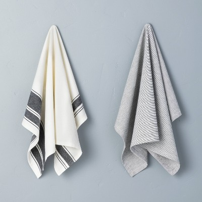 2pk Kitchen Towel Set Faded Blue - Hearth & Hand™ with Magnolia