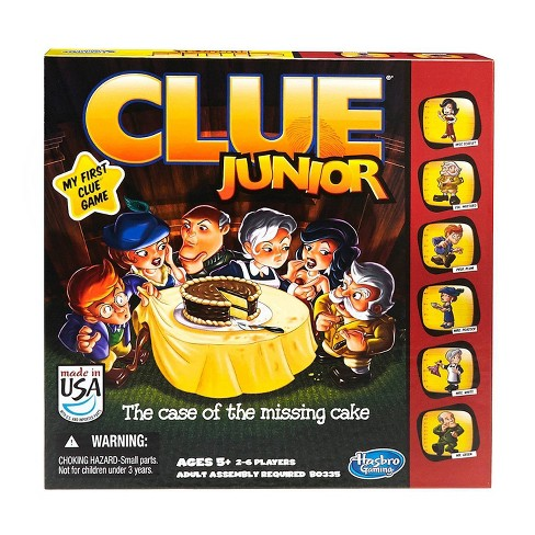 Clue Junior Board Game - image 1 of 3