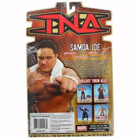 Wrestling 6 Action Tna Figure Inch JoeTarget Samoa doBWerCx