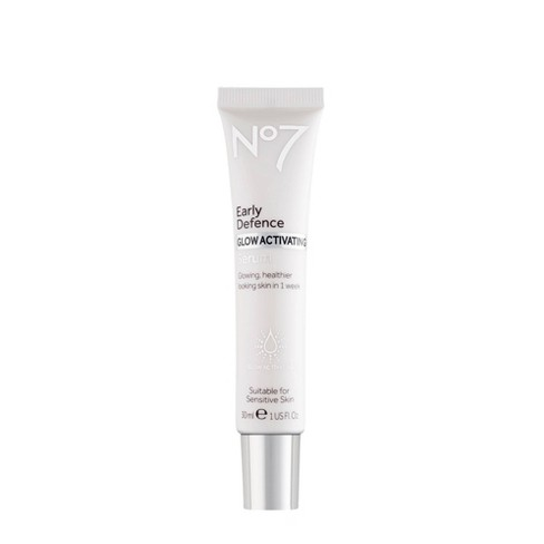 No7 Early Defence Glow Activating Serum - 1oz - image 1 of 4