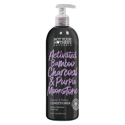 Naturals Activated Bamboo Charcoal & Purple Moonstone Restore & Reclaim Clarifying Conditioner - 15.2 fl oz