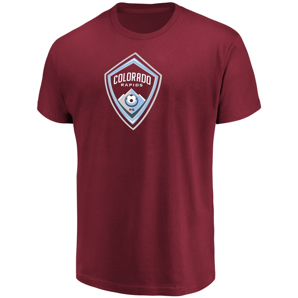 Mls Men's Short Sleeve Top Ranking Core T-Shirt Colorado Rapids - Xxl, Multicolored