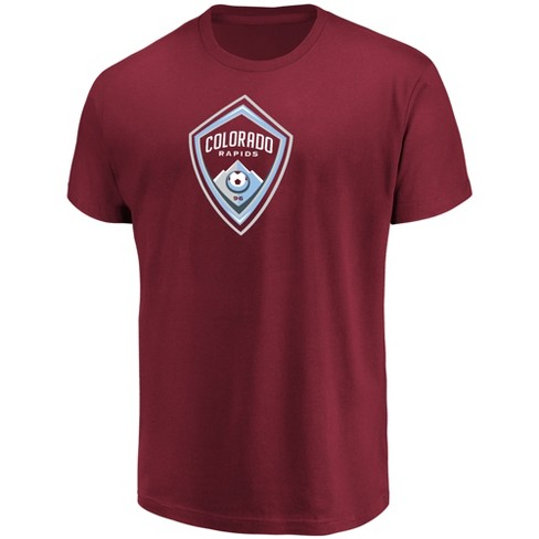 MLS Men's Short Sleeve Top Ranking Core T-Shirt Colorado Rapids - image 1 of 3