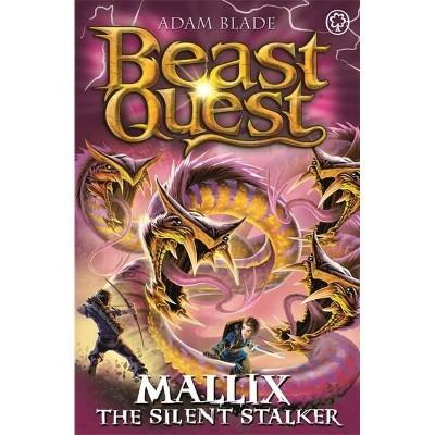 Beast Quest: Mallix the Silent Stalker - by  Adam Blade (Paperback)