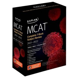 MCAT Complete 7-Book Subject Review 2021-2022 - (Kaplan Test Prep) (Paperback)