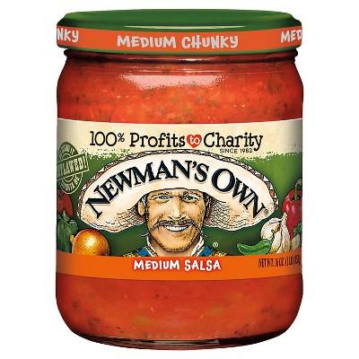 Salsas & Dips: Newman's Own Salsa