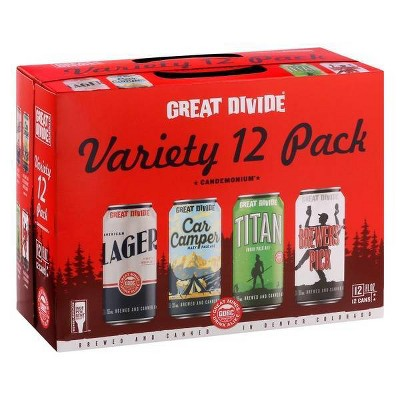 Great Divide Candemonium Variety Beer - 12pk/12 fl oz Cans