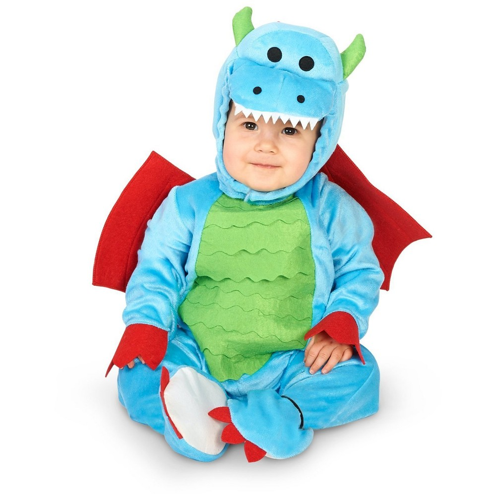 Baby Mighty Dragon Costume 18-24M - BuySeasons, Infant Unisex, Multicolored